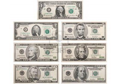 ธนบัตรเงินดอลลาร์สหรัฐมีรูปใครบ้าง