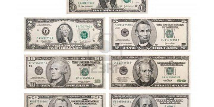 มารู้จักธนบัตรเงินดอลล่าร์สหรัฐกันเถอะ